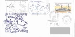 TAAF - Patrouilleur Le Malin. Déploiement Iles Eparses. Les Glorieuses (Tortue) - Brieven En Documenten
