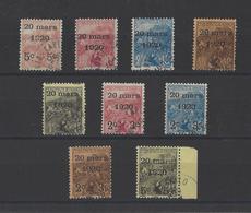 MONACO . YT   N° 34/49  Obl 1920 - Monaco