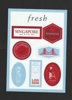 FRESH Planche De 8 Stickers - Perfume Cards