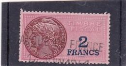 T.F.S.U N°127 - Revenue Stamps