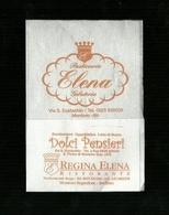 Tovagliolino Da Caffè - Caffè Pasticceria Elena - Montoro I ( Avellino ) - Servilletas Publicitarias