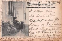 NETHERLANDS - AN EARLY 1890's -1901 VINTAGE POSTCARD - POSTED IN 1900 - A 120 YEAR OLD CARD #21369 - Other