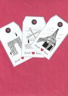FRESH   3 Cartes *Monuments De Paris* - Perfume Cards