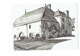 Cpm - 70 - LA CHAPELLE ST-QUILLAIN - Dessin De Jean Garneret - Edit Folklore Comtois - SEPT 1945 - Other Municipalities