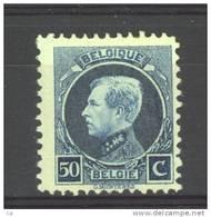 Belgique  :  Yv  187  ** - 1915-1920 Albert I