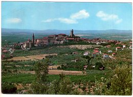 Castiglion Fiorentino (Ar). Panorama. VG. - Arezzo