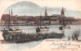 NIJMEGEN, EN DE WAAL, NETHERLANDS - AN EARLY 1890's -1901 VINTAGE POSTCARD - POSTED 1901? #21373 - Nijmegen