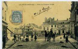 72 - LA FERTE BERNARD -hotel Du Chapeau Rouge - Chevaux - La Ferte Bernard