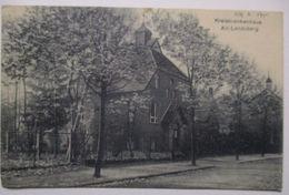 Altlandsberg, Krankenhaus, Bahnpost Hoppegarten Altlandsberg 1929  - Deutschland