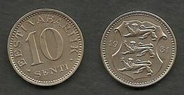 Estland Estonia Estonie 10 SENTI 1931 Coin Very Good Condition - Estland