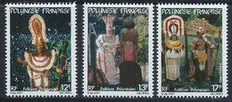 Polynésie YT 181-183 XX / MNH - Polynésie Française