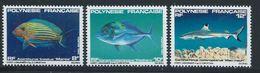Polynésie YT 192-194 XX / MNH Poisson Fish Animal Wildlife - Polynésie Française