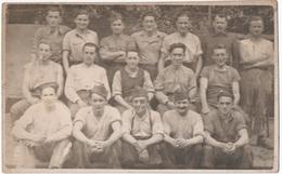 MILITARIA. CARTE PHOTO. ALLEMAGNE. VILLINGEN. STALAG VB 15. PRISONNIERS De GUERRE.CENSURE. 1941.POUR CHENIMENIL (88) - Guerre 1939-45