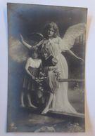 Engel, Schutzengel, Kinder,    1908 ♥  - Holidays & Celebrations