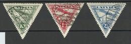 LETTLAND Latvia 1931 Michel 177 - 179 A O - Lettonia