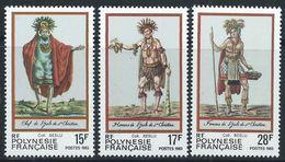 Polynésie YT 202-204 XX / MNH - Polynésie Française