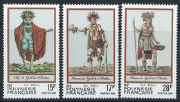 Polynésie YT 202-204 XX / MNH - Nuovi