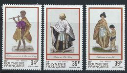 Polynésie YT 216-218 XX / MNH - Nuovi