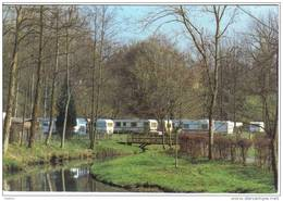 Carte Postale 59. Bellignies  Le Camping De La Vallée De L'Hogneau Trés  Beau Plan - France