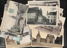 FRANCE - LOT DE 1100 CARTES ANCIENNES FORAMT 9X14 DIVERSES - TYPE DROUILLE - Cartes Postales