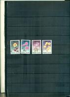 S.LUCIA NOEL 98 FLEURS 4 VAL NEUFS A PARTIR DE 0.90 EUROS - St.Lucie (1979-...)