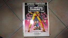 SPIROU T35 QUI ARRETERA CYANURE ?    ALBUM SOUPLE PUBLICITAIRE TOME/JANRY - Spirou Et Fantasio