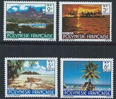 Polynésie YT 252-255 XX / MNH - Polynésie Française