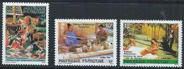 Polynésie YT 263-265 XX / MNH - Nuovi