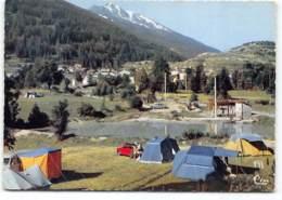 Bramans. Terrain De Camping. Edit Cim Caravaning. Tentes. Austin Mini. Voiture - France