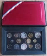 SÉRIE DE 14 PIÈCES FLEURS DE COINS 1989 MONNAIE DE PARIS - France