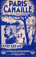 LEO FERRE RENEE LEBAS - PARIS CANAILLE -  1953 - EXC ETAT PROCHE DU NEUF - - Música & Instrumentos