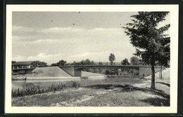 CPA Saint-Sauveur, Pont Sur Le Canal Et Le Vingeanot - France