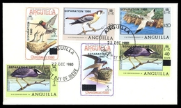 1980, Anguilla, 420 U.a., FDC - Anguilla (1968-...)