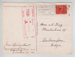 REF396/ PC Gelukkig Nieuwjaar C.Rotterdam 1965 > Antwerpen Taxé 1 F TTx Méc.Antwerpen 6/1/65 - Lettres