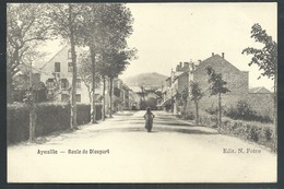 +++ CPA - AYWAILLE - Route De Dieupart   // - Aywaille