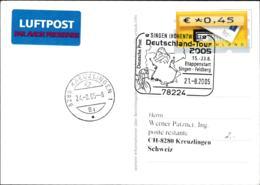 Germany Card 2005 Singen Hohentw) Deutschland Tour 2005 Etappenstart    (G109-2A) - Ciclismo