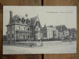 CPA (14) Calvados - DEAUVILLE - Villas Sur La Terrasse - Deauville