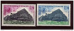 "FR Service YT 58 & 59 "" Conseil De L'Europe "" 1978 Neuf** - Service"
