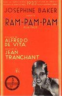 JOSEPHINE BAKER - RAM PAM PAM - 1932 - EXCEPTIONNEL ETAT COMME NEUF - - Música & Instrumentos