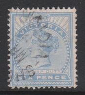 Australia-Victoria SG 288 1886-96 Six Pence Ultramarine,used - 1850-1912 Victoria