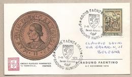 Italia - Busta Con Annullo Speciale: Faenza (RA) - 9° Raduno Numismatico - 1976 - 1946-.. République