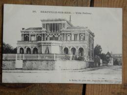 CPA (14) Calvados - DEAUVILLE SUR MER - Villa Palissy - Deauville