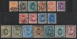 Egypt - 1927-37 - ( King Fouad ) - Used - Oblitérés