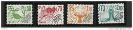 """FR Préo YT 150 à 153 """" Les Signes Du Zodiaque """" 1978 Neuf** - Préoblitérés"""
