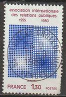 """FRANCE : N° 2091 Oblitéré """"Tàd Rond"""" (Association Internationale Des Relations Publiques) - PRIX FIXE - - Oblitérés"""