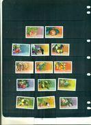 S.LUCIA SERIE COURANTE FRUITS 14 VAL NEUFS A PARTIR DE 4 EUROS - St.Lucie (1979-...)