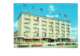 Cpm - EUROPA HOTEL - The Hague Scheveningen - Pays-Bas - Voiture FORD CAPRI DS CITROEN 2 CV ALFA ROMEO COCCINELLE - PKW