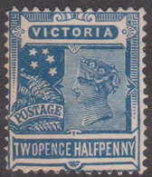 Australia-Victoria SG 359 1901-05 Two Half Penny, Blue,used - 1850-1912 Victoria