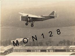 AVIONS MICHEL WIBAULT PARIS -  TYPE 220 RN3-AVION RECONNAISSANCE DE NUIT 3 PLACES 1930-TAMPON AU DOS-DIM 22x16,5 Cms - Aviation