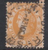 Australia-Victoria SG 368 1901-10 Three Pence Orange Brown,used - 1850-1912 Victoria